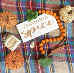 jars of clay pumpkin spice customer photo